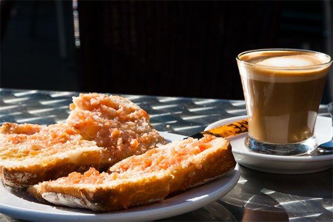 El desayuno español Desayuno Espanol Tipico