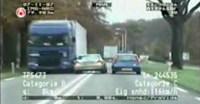 Persecución policial a un Mercedes Clase C en Holanda