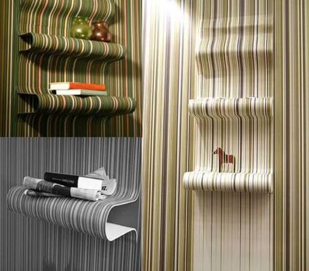 estanterias de papel pintado resultados