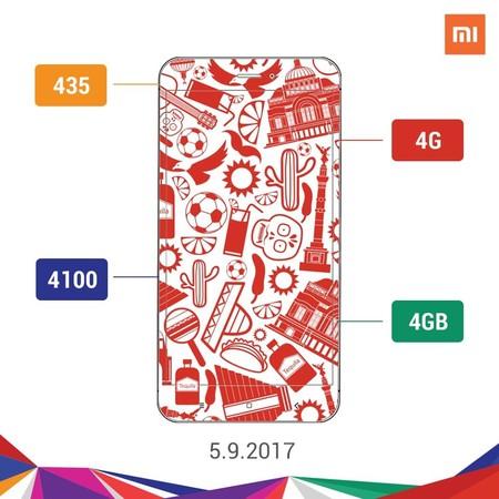 Xiaomi Redmi 4x Mexico