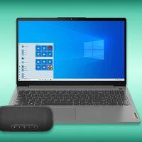 Paquete con laptop y bocina Lenovo con descuento en Amazon México: usando tarjeta Citibanamex puede quedar hasta en 12,000 pesos
