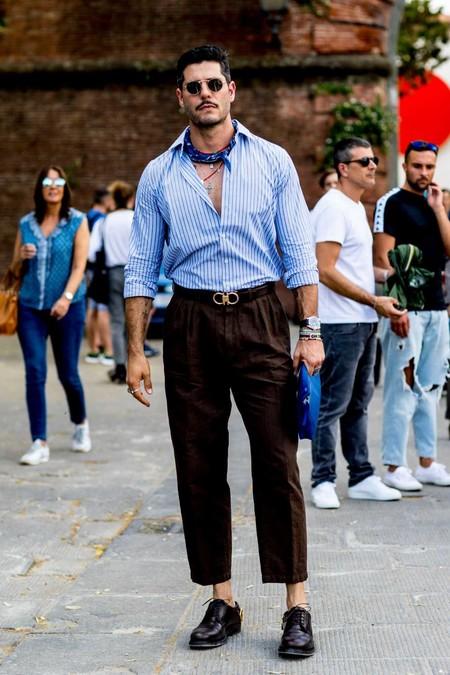 Panuelo Bandana Trendencias Hombre Street Style De La Semana 03