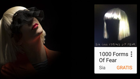 Google Play te regala el álbum 1000 Forms Of Fear de Sia y tres álbumes de música clásica