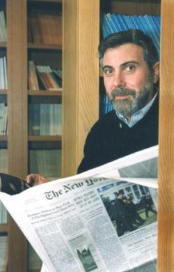 Profesor Krugman ya no espera el catástrofe