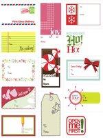 Bonitas tarjetas para identificar los regalos navideños