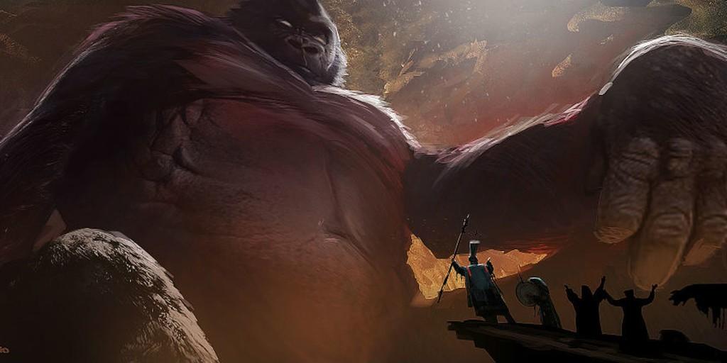 Kong Skull Island Arte Conceptual 2