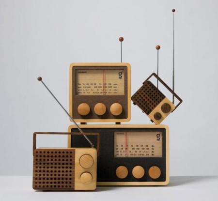 """La colección """"vintage"""" de radios de madera Wooden Radio"""