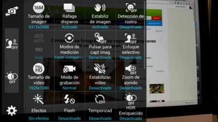 Opciones Galaxy S5