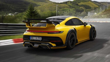 Techart Gtstreet R Porsche 911 Turbo S 1