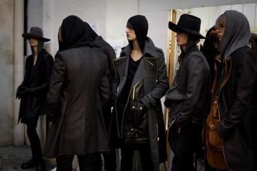 En el backstage de Jean Paul Gaultier, Otoño-Invierno 2010/2011