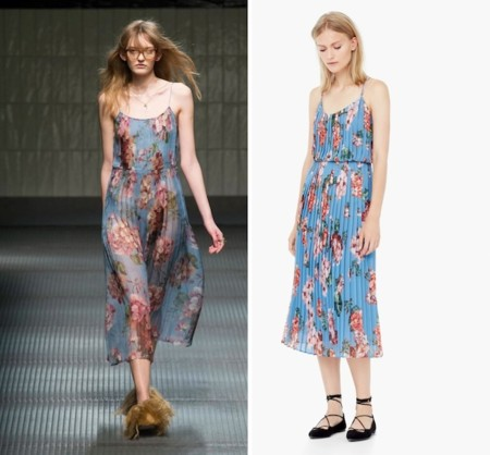 Mango Gucci Floral Dress