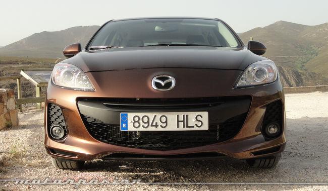 Mazda3 1.6 CRTD 115 cv frontal rediseñado