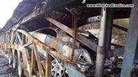 Dolorpasión™: Incendio destruye Rolls-Royce Wraith en China