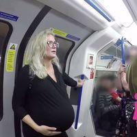 Solo seis de cada diez viajeros ceden el asiento a una embarazada: no te hagas el distraído