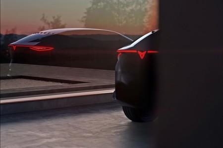 CUPRA, la marca independiente de SEAT, nos muestra una imagen del que será su primer coche eléctrico: un SUV deportivo