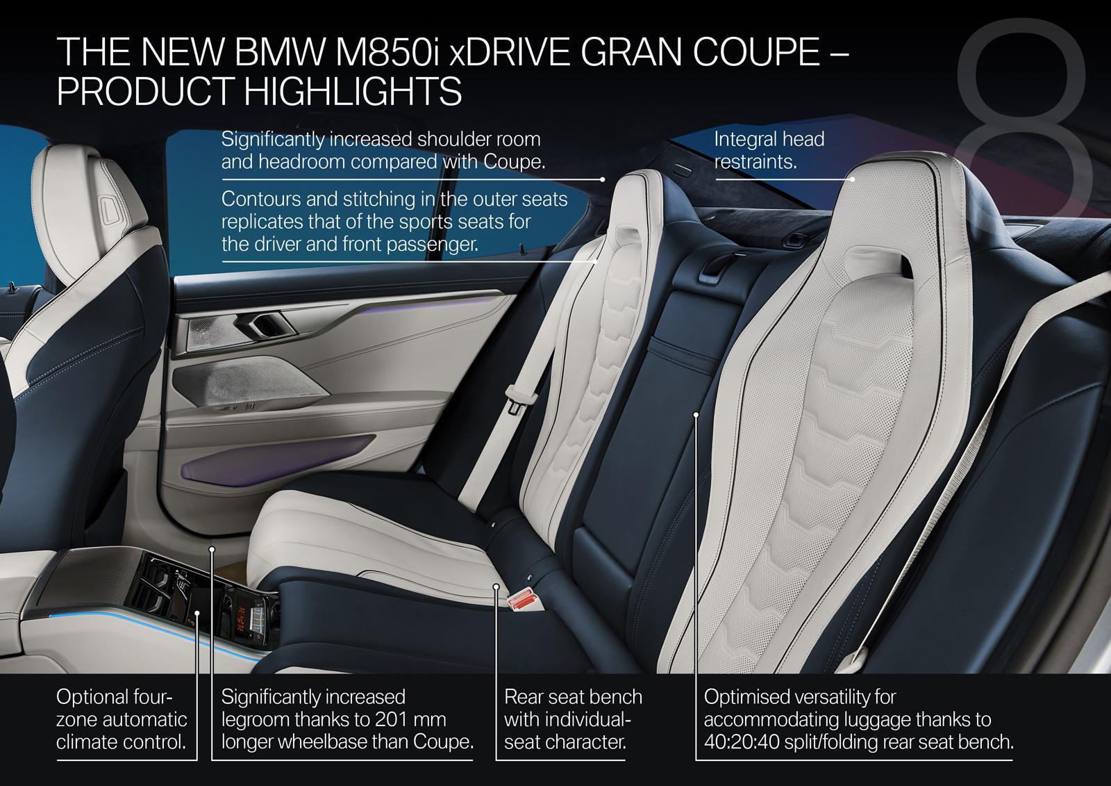 Foto de BMW Serie 8 Gran Coupé (presentación) (143/159)