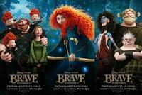 'Brave (Indomable)', tráiler final y nuevos carteles de la última película de Pixar