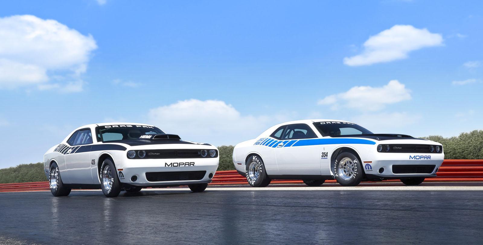 Foto de Mopar Dodge Challenger Drag Pak (4/8)