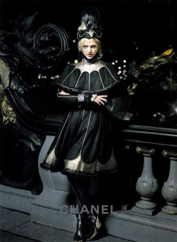 Campaña París-Moscú de Chanel Otoño 2009