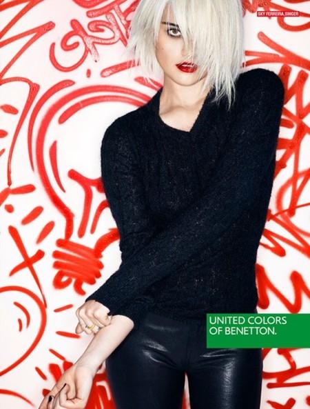 Benetton apuesta por la música y la sangre joven para su campaña otoño-invierno 2013