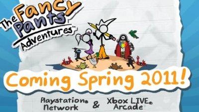 'The Fancy Pants Adventures'. Nuevo y colorido tráiler [GDC 2011]