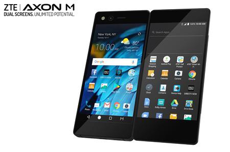 ZTE Axon M: el móvil con doble pantalla y diseño plegable que se convierte en tablet