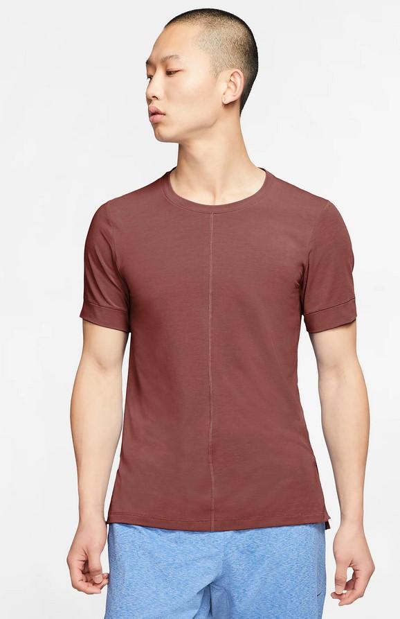 Camiseta de manga corta - Hombre Nike Yoga Dri-FIT