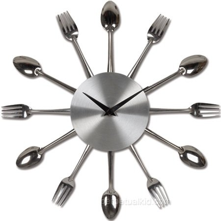 El reloj perfecto para cocina y comedor for Reloj de cocina original