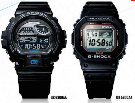 Relojes de la serie G-Shock de casio compatibles con iPhone