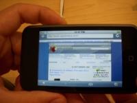Primer contacto con el iPod touch, por nuestro lector Miquel