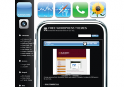Tema iPhone para WordPress