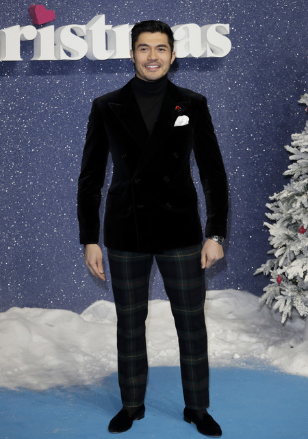 Henry Golding Last Christmas Style Red Carpet Premiere 03