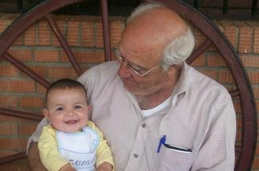 La foto de tu bebé: Carolina y Néstor, adoración mutua.