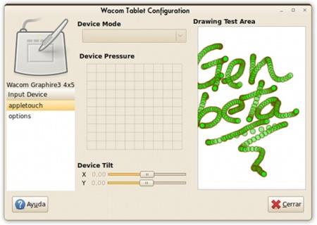 Wacom Control Panel: configurar y gestionar dispositivos Wacom en Ubuntu