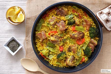 Arroz Con Costillejas De Murcia Receta De Cocina Fácil Sencilla Y Deliciosa