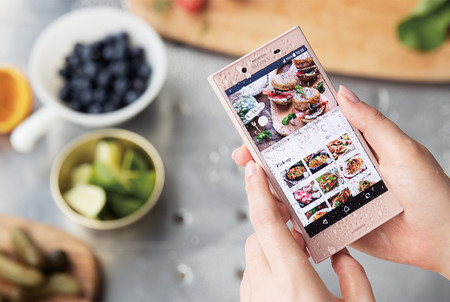 Sony Xperia X Compact Rosa Japon