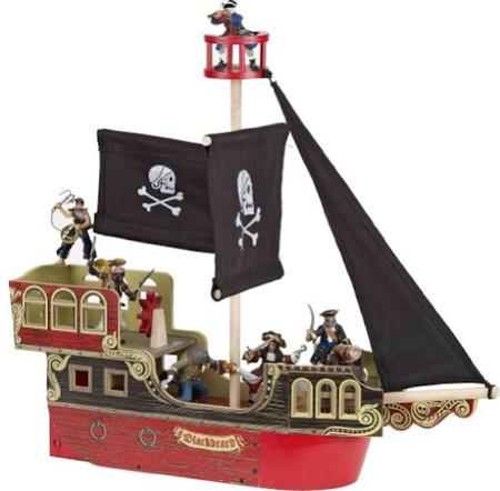 Barco pirata de Barbanegra