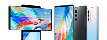 LG Wing: el atrevido móvil con pantalla giratoria y cámara pop-up ya es oficial