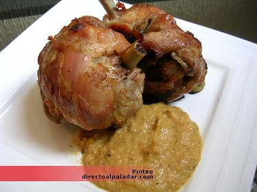 Receta de jamoncitos de pollo breseados