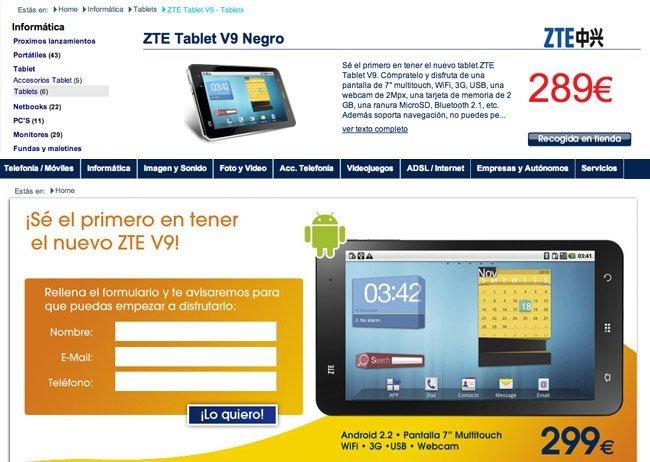 tablet zte e10q caracteristicas you very