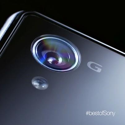 Sony publica una nueva foto teaser del Sony Xperia Z1 (Honami) centrada en su cámara
