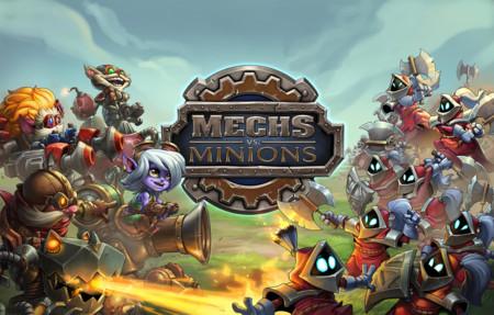 Así es Mechs vs Minions, el loco juego de tablero de League of Legends