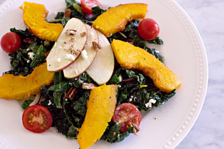 Song Of Style Roasted Pumpkin Salad Recipe