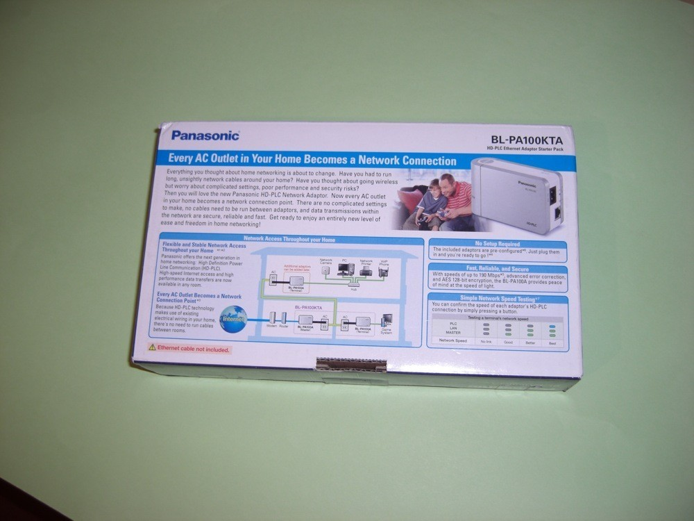Análisis HD-PLC Panasonic