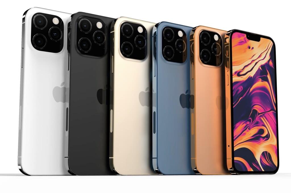 El iPhone 13 añadirá negro mate y bronce como nuevos colores, un sistema de cámaras mejorado y más