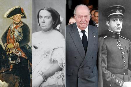 Todos los reyes de España desde 1800 han pasado por el exilio. Juan Carlos I no será una excepción