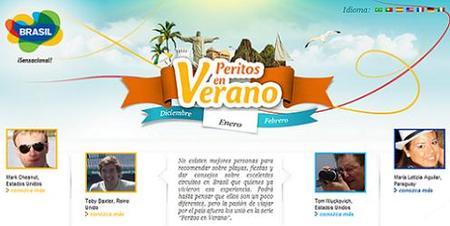 Turismo de Brasil lanza web para que los viajeros compartan sus experiencias