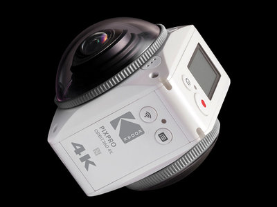 Kodak PixPro 4KVR360, la apuesta de un clásico de la fotografía para el mercado de cámaras VR 360 grados salta al formato 4K