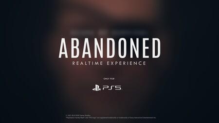 Más paciencia para Abandoned: la app para PS5 sufre problemas y el misterio sobre el título de Blue Box continúa (Actualizado)
