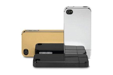 Fundas Incase Chrome Slider para iPhone 4